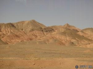 Estrada para Isfahan