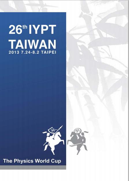 IYPT 2013 Booklet